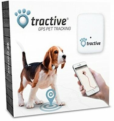 Tractive GPS Pet Tracker, Real-Time Tracking, Waterproof