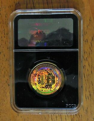 LEALANA Physical Bitcoin Unfunded 2013 Collectible Rare