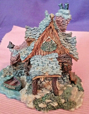 """Boyd's Bears """"EDMUND'S HIDEAWAY"""" Boyd's Town Village House #5 Collection"""