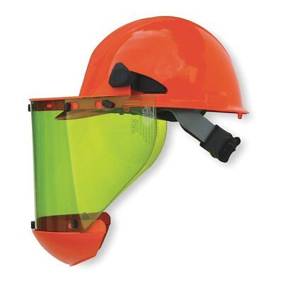 Salisbury AS1000HAT Hard Cap with Ratchet Suspension, Chin Guard, and Arc Flash