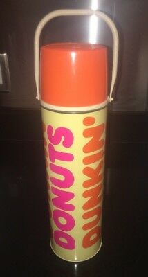 Vintage Dunkin Donuts Thermos Cup Mug Coffee King Seeley Made In USA
