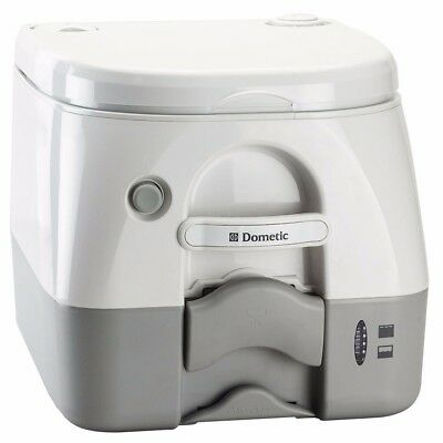 NEW Dometic 974 Portable Toilet 2.6 Gallon Grey 301097406