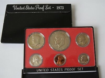 "1973 U.S. Mint Proof Set ""Proof"" *Free S/H After 1st Item*"