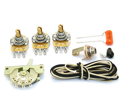 WKS-VNT5 5-way Wiring Kit for USA Vintage Fender Stratocaster/Strat®