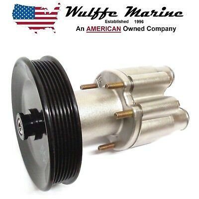 Stainless Steel Sea/Raw Water Pump With Pulley for Mercruiser Bravo 46-807151A9