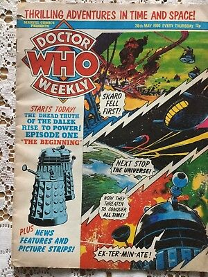 Doctor Who Weekly Comic - 28th May 1980 - Dr Who Retro Marvel Magazine