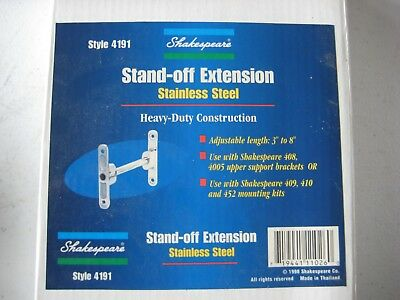Shakespeare 4191 Stand Off Extension Mounting Kit for 410 Upper Mount