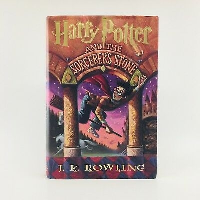 Harry Potter Sorcerer's Stone • First Edition/1st Printing • J. K. Rowling • HC