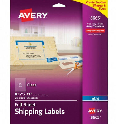 Avery Dennison AVE8665 Label (New)