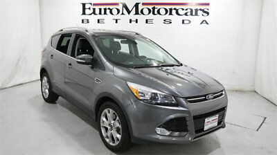 2014 Ford Escape 4WD 4dr Titanium ford escape 4WD 4dr grey gray silver used 13 14 15 navigation suv truck awd