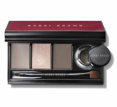 Bobbi Brown Satin & Caviar Shadow & Long Wear Gel Eyeliner Palette New In Box