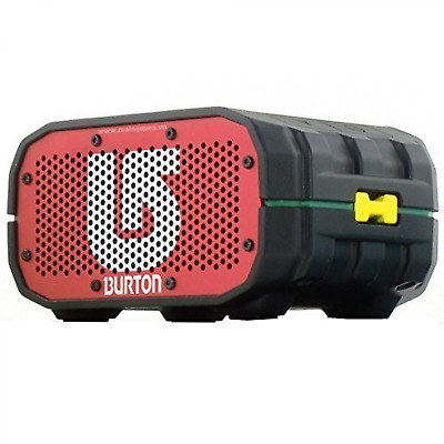 Burton Limited Edition Portable Bluetooth Speaker [12 Hours] [Waterproof]