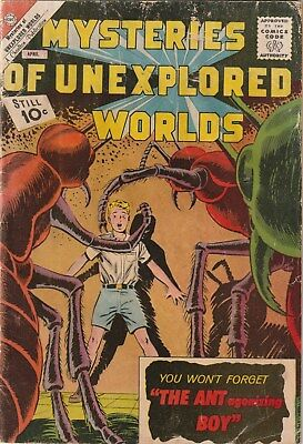 Mysteries Of Unexplored Worlds. 29 Charlton Comics 1962. Sci-Fi. 10 Cent Issue.