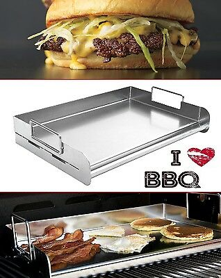 Flat Top Griddle 18'' Restaurant Professional Stainless Steel Commercial Grill