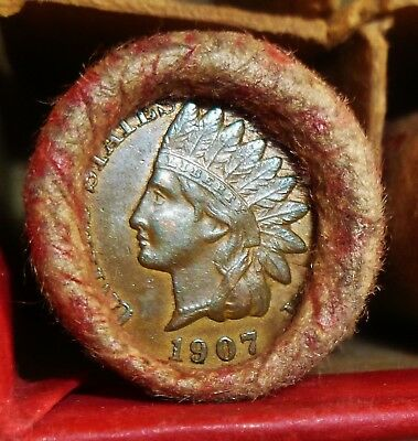 Very Nice Old Penny Roll for bid as pictured      ROLL # 13