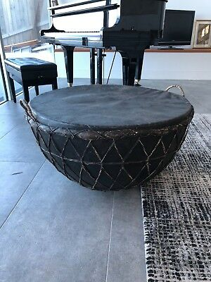 Large Indian Drum 79 cm diameter