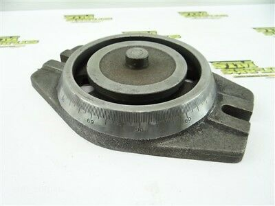 """Graduated 6"""" Swivel Base For Machinists Vise"""