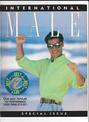 "1990 INTERNATIONAL MALE Catalog ""Best of"" Issue gay interest hard bodies fashion"