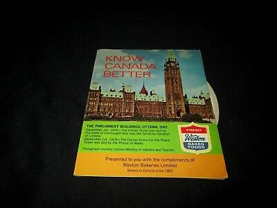 WESTON BAKED FOODS-KNOW CANADA BETTER-WESTON BAKERIES-1970s ERA BOOKLET