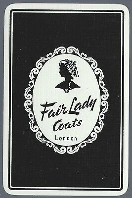 Swap Playing Vintage Cards Advertising FAIR LADY COATS