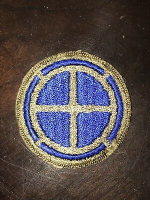 Rare WW2 35th Infantry Division Variation patch No Glow