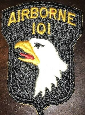 WW2 101st Airborne Paratrooper Division variation made Patch