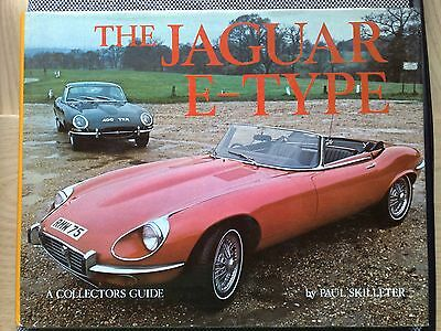 """The Jaguar """"E"""" type book by Paul Skilleter libro in inglese collector's guide"""