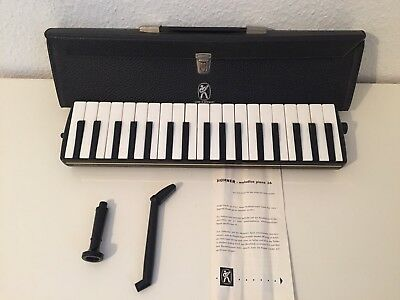 HOHNER Melodica Piano 36 Tasteninstrument Made in Germany Inkl. Tasche Keyboard