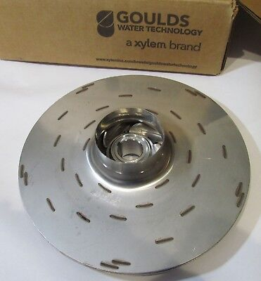 New Goulds 2L898 Stainless Steel Pump Impeller Replacement 8.42""