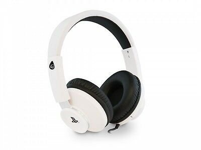 4GAMERS PRO4-60 Stereo Gaming Headset for Playstation VR White