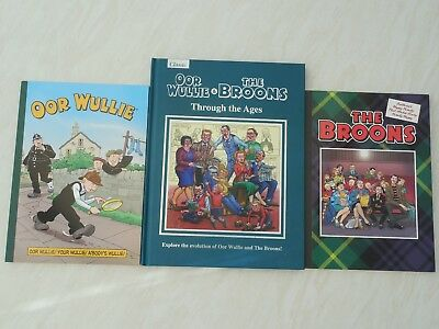 OOR WULLIE AND THE BROONS x 3 books