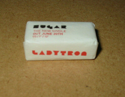 LADYTRON Sugar 2005 rare UK promo-only sugar lumps!