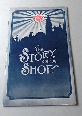 1920s Roberts,Johnston & Rand Shoe Co 24-Pg Advertising Booklet-Story of a Shoe!