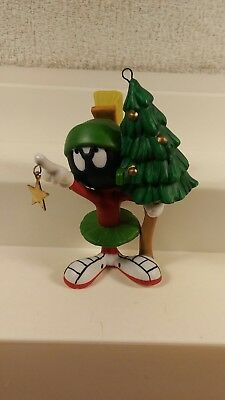 Goebel Looney Tunes Marvin The Martian Aim For The Stars Porcelain Ornament