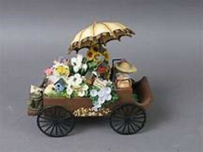 San Francisco Music Box Company Flower Cart Plays Younger than Springtime