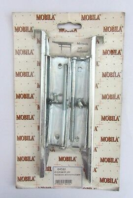 Mobila 2 shelf shelves x radiators zincocromate cod. 64022 new screws including