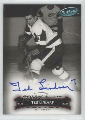 2006 Upper Deck Parkhurst Autographs Autographed 66 Ted Lindsay Auto Hockey Card