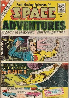 Space Adventures. Number 36. Charlton Comics 1960 Sci-Fi. 10 Cent Issue. Ditko