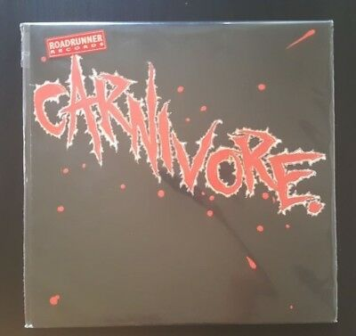 Carnivore ‎– Carnivore, Blood Red Vinyl LP, Limited Ed, Remastered, 2016 Reissue