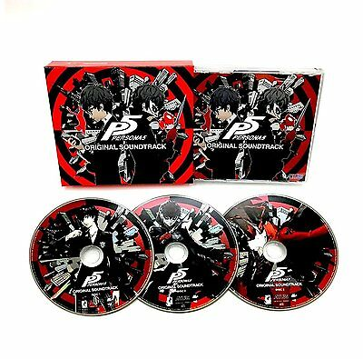 Persona 5 Original Soundtrack CD 110 Tracks 3 CD Set Video Game OST