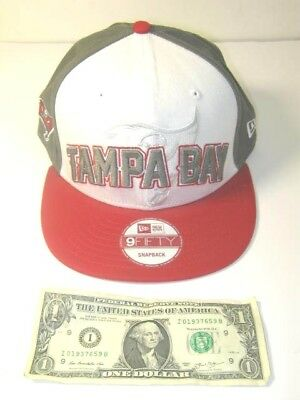 65bef74c4 NEW ERA 9FIFTY Snapback Tampa Bay Buccaneers NFL FG Draft Cap Hat ...