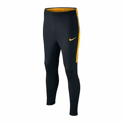 Boys Kids Nike Dry Academy Soccer Pants 839365 022 SIZE L Black Orange