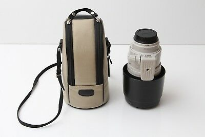 Canon EF 100-400mm f/4.5-5.6 IS USM L Zoom Lens with Hood and Pouch *** MINT ***