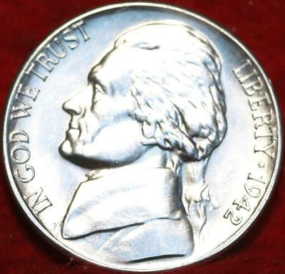Uncirculated 1942-S San Francisco Mint Silver Jefferson Nickel