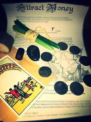 Attract Money And Fortune Spell Kit