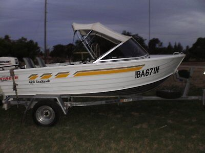 boat stacer 420 seahawk