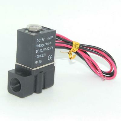 12V DC Electric Solenoid Valve Water Air Fuels Gas Normal Closed