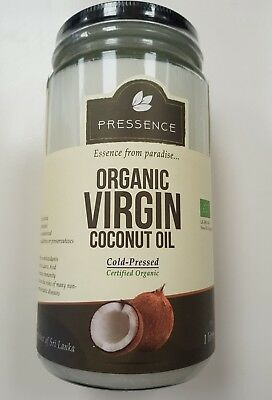 Organic Virgin Coconut Oil 1 liter bottle