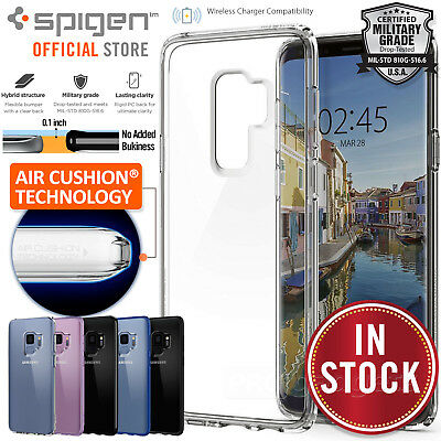 Galaxy S9/Plus S8 Case shock proof Genuine SPIGEN Ultra Hybrid Cover Samsung