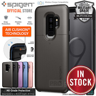 Galaxy S9 Plus/S9 Case Genuine SPIGEN Neo Hybrid Dual Layer Bumper Cover Samsung